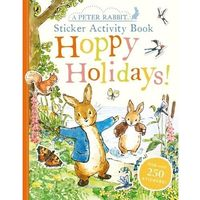 Książki do nauki języka, Peter Rabbit Hoppy Holidays! Sticker Activity Book - książka