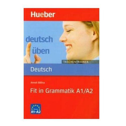 Książki do nauki języka, Deutsch uben Taschentrainer Fit in Grammatik A1/A2 (opr. miękka)
