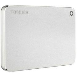 Dysk zewnętrzny Toshiba Canvio Premium 2TB, USB 3.0, silver metallic