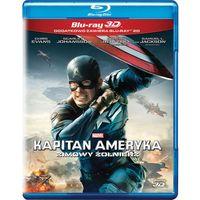 Filmy fantasy i s-f, Kapitan Ameryka: Zimowy żołnierz 3D (Blu-Ray) - Anthony Russo, Joe Russo DARMOWA DOSTAWA KIOSK RUCHU