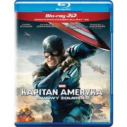 Kapitan Ameryka: Zimowy żołnierz 3D (Blu-Ray) - Anthony Russo, Joe Russo DARMOWA DOSTAWA KIOSK RUCHU