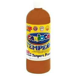Farba Carioca tempera brązowa jasna 1000ml (ko03/20)