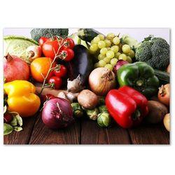 Obraz zdjęcie szkło akryl Warzywa i owoce