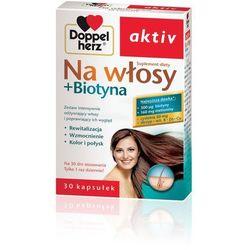 DOPPELHERZ AKTIV Na włosy + Biotyna 30 kaps.