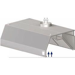 Okap przyścienny trapezowy 2000x1000x450 mm   STALGAST, 9820710200
