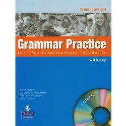 Grammar practice for Pre-Intermediate students (+ CD) (opr. miękka)