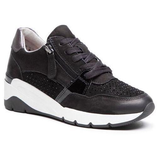 Damskie obuwie sportowe, Sneakersy JANA - 8-23702-26 Black 001