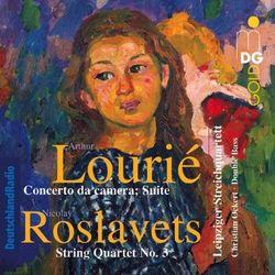 Leipziger Streichquartett - Lourie/Roslavets:..