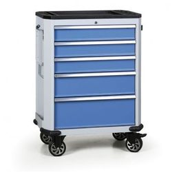 Wózek warsztatowy EXPERT, 5 szuflad
