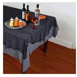 Obrus czarny na Halloween 150 x 210 cm - 1 szt.