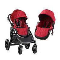 Wózki wielofunkcyjne, W�zek wielofunkcyjny City Select Double Baby Jogger + GRATIS (red)