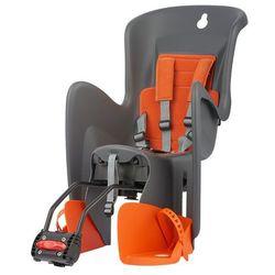 POLISPORT fotelik rowerowy Bilby RS, szary/pomarańczowy - BEZPŁATNY ODBIÓR: WROCŁAW!