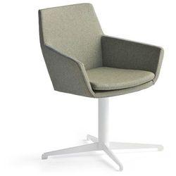 Krzesło konferencyjne FAIRVIEW, biały, zielononiebieski