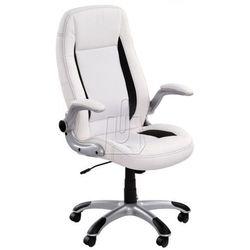 Fotel gabinetowy Saturn biały - gwarancja bezpiecznych zakupów - WYSYŁKA 24H