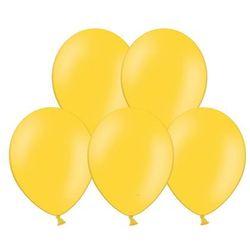 """Balony 12"""" Strong, Żółte, Honey Yellow, pastelowe 10 szt."""