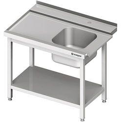 Stół załadowczy lewy z półką do zmywarki kapturowej Silanos 1000x740x880 mm | STALGAST, 982417100
