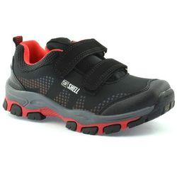 Dziecięce buty sportowe American Club WT1779 - Czerwony ||Czarny
