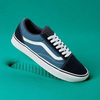 Męskie obuwie sportowe, buty VANS - Comfycush Old Skool (Classic) Navy/Stv Navy (VNT) rozmiar: 34.5