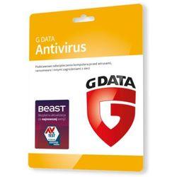 G Data AntiVirus 3 PC - Nowa 1 rok