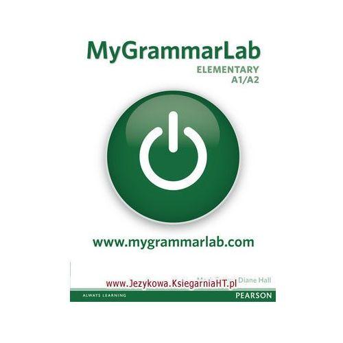 Książki do nauki języka, MyGrammarLab Elementary Książka Ucznia Bez Klucza Plus MyLab (opr. miękka)