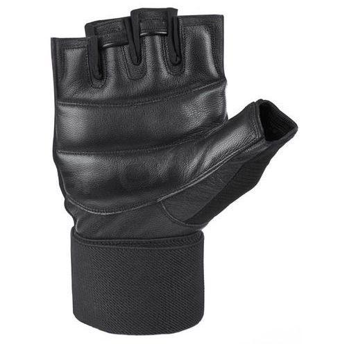 Odzież fitness, Rękawice fitness SPOKEY Guanto II Czarny (rozmiar L)