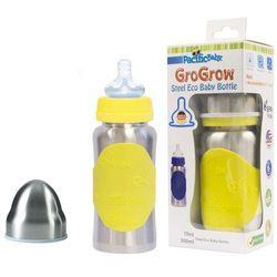 PACIFIC BABY GroGrow Termobutelka eko nierdzewna 300 ml – żółta - BEZPŁATNY ODBIÓR: WROCŁAW!