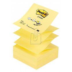 Karteczki samoprzylepne Post-it Z-Notes, Żółte, 76x76mm, 100 karteczek, R-330