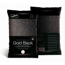 Depileve BIOWAX GOLD BLACK CARBON Wosk tradycyjny w granulkach (czarne złoto)