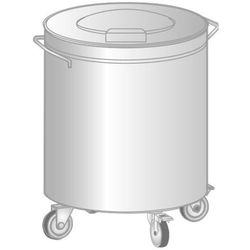 Pojemnik na odpadki średnica 380mm