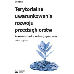 Terytorialne uwarunkowania rozwoju przedsiębiorstw - Dostawa 0 zł (opr. miękka)