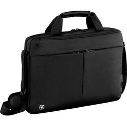 "Torba na laptopa Wenger Format Slimcase 601062, 39,6 cm (15,6"") , (DxSxW) 9 x 41 x 29 cm, czarny"