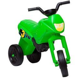 Rowerek biegowy dziecięcy Enduro Maxi - Kolor Zielono-czarny