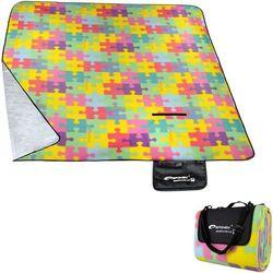 Koc piknikowy SPOKEY Puzzle (180 x 210 cm) + Zamów z DOSTAWĄ JUTRO!