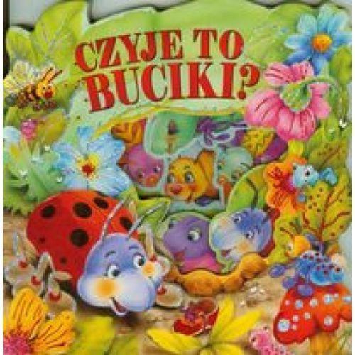 Książki dla dzieci, Czyje to buciki (opr. kartonowa)