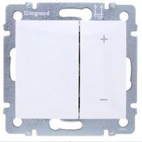 Pozostała elektryka, Ściemniacz przyciskowy Legrand Valena 770074 40-600VA 250V biały