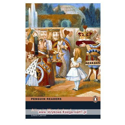 Książki do nauki języka, Alice in Wonderland Penguin Readers. + MP3 CD (opr. miękka)