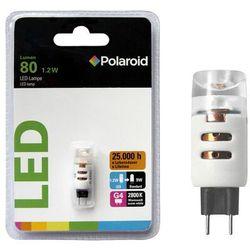 Żarówka LED Polaroid 650-825946, 1.2 W = 9 W, 80 lm, 2800 K, ciepła biel, 12 V, 25000 h