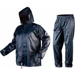 Komplet przeciwdeszczowy kurtka z kapturem i spodnie rozmiar L 81-800-L
