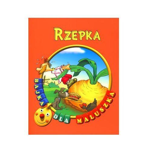 Książki dla dzieci, Rzepka. Bajka dla maluszka (opr. broszurowa)