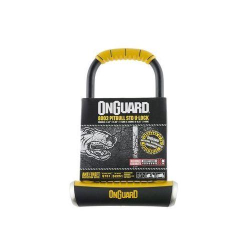 Zabezpieczenia do roweru, Onguard Pitbull STD 8003 Zapięcie typu U-lock 115x230mm Ø14 mm ż U-locki