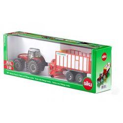 Farmer - Traktor Massey-Ferguson z przyczepą