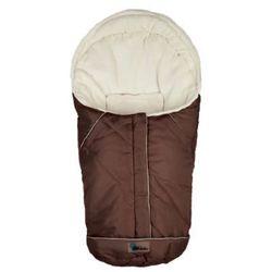 ALTABEBE śpiworek zimowy Nordic do fotelika samochodowego, rozmiar 0+ kolor brąz-whitewash