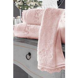 Luksusowy ręcznik LUNA 50x100cm Różowy
