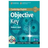 Książki do nauki języka, Objective Key, Second Edition, Student's Book (podręcznik) without Answers with CD-ROM (opr. miękka)