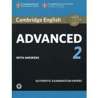 Książki do nauki języka, Cambridge English Advanced 2 Student's Book with answers and Audio - Dostawa 0 zł (opr. miękka)