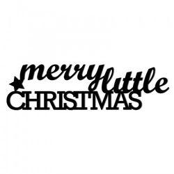Świąteczny napis na ścianę MERRY LITTLE CHRISTMAS MLC1-1
