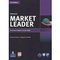 Książki do nauki języka, Market Leader Advanced Business English Course Book + Dvd (opr. miękka)