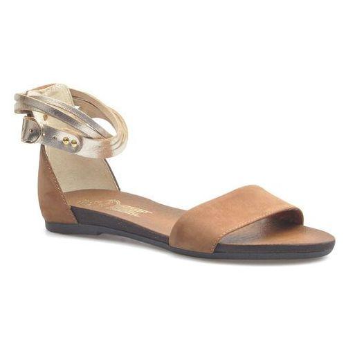 Sandały damskie, Sandały Lemar 40189 Brązowe/Złote