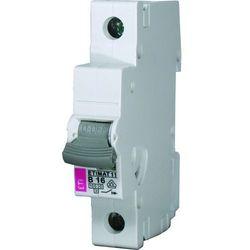 Wyłącznik nadprądowy ETI 1P B 16A 10kA 002121716