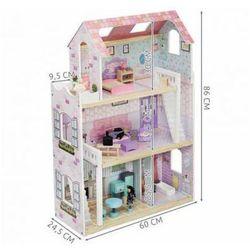 Domek drewniany do zabawy lalkami dla dzieci